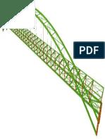 Isometrico de Puente Metalico
