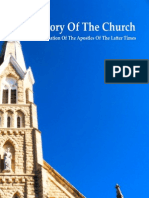 History of the Church the Formation of the Apostles of the Latter Times
