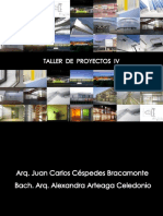 Primera Clase Taller de Proyectos IV