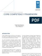 Undp Hr Core Competency 2016