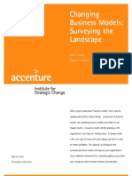 Changing Business Models - Surveying the Landscape