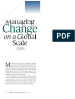 Managing Change on a Global Scale Market Facts, Fall 2002)