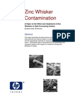 ZincWhisker Contamination