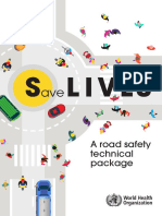 A road safety technical package via World Health Organization