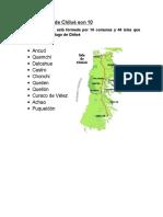Las Comunas de Chiloé