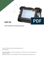 Usm 36 Operation Manuals