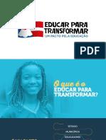 Apresentacao Oficial Educar Para Transformar 28 10