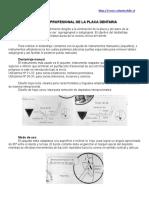 Control Profesional de La Placa Dentaria