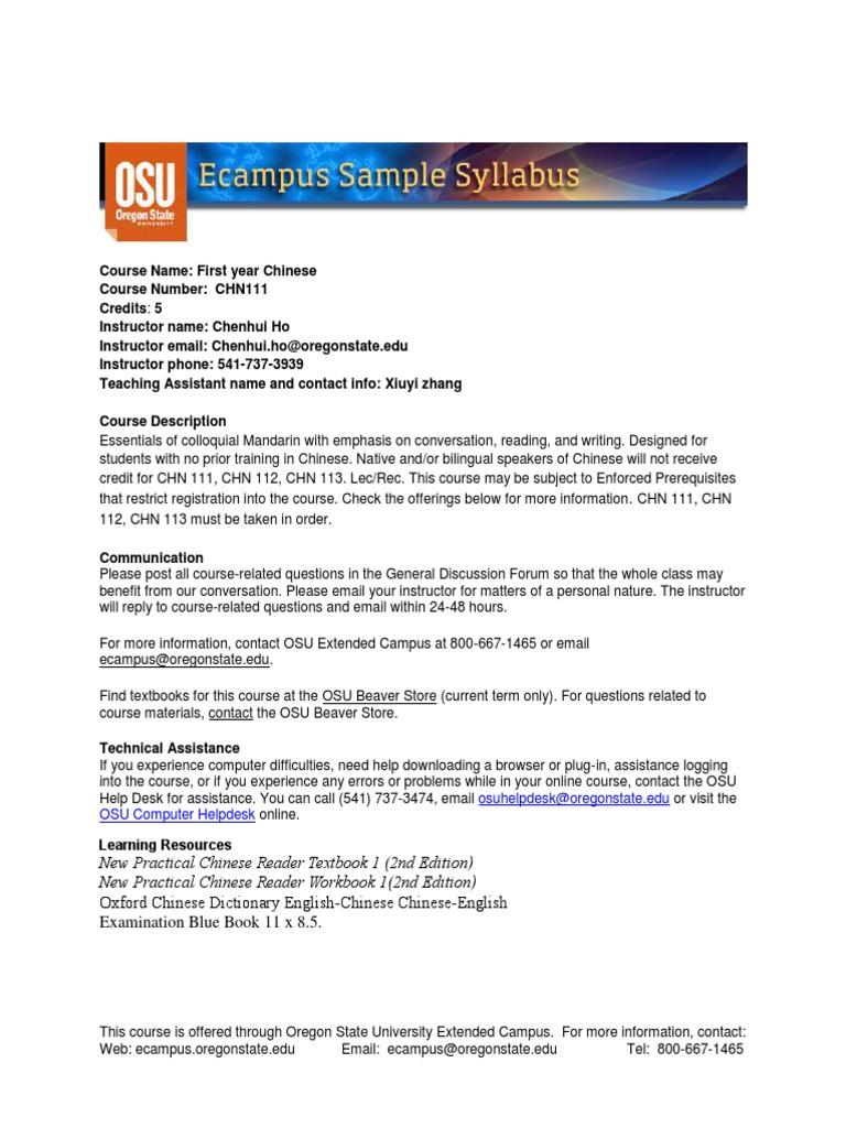Workbooks new practical chinese reader 2 workbook : syllabus5435 | Academic Dishonesty | Test (Assessment)