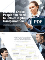 The Most Critical People You Need to Deliver Digital Transformation