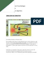 Ejemplo Simulación de Un Circuito Electrico.