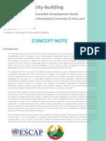 Concept Note Modelling LDCs 0