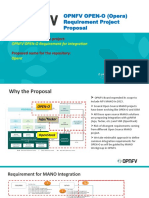 OPNFV OPEN-O Requirement Project Proposal V3.0