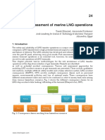 InTech-Risk Assessment of Marine Lng Operations