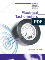 Brochure Electrical Tachometers
