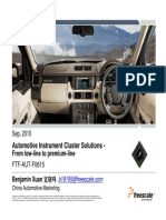 AUT F0615 Automotive Instrument Cluster Solutions From Low Line to Premium Line