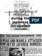 Economic Condition of Philippines During Japanese Occupation