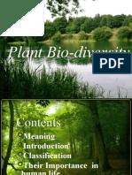 Plant Bio-Diversity Evs