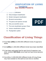 Lec 3 Classification of Living Things