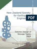 NZSEE Seismic Design of Storage Tanks 2009