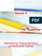 Identifying Characteristics of Ports & Cable