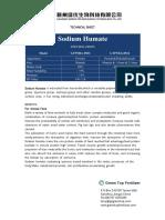 Natrium humate-Technicial Sheet-Sodium Humate-Ganzhou Green Top Biological Technology Co.,LTD.