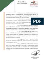 Carta Rotary ERAUP
