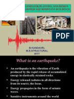 Earthquake Seminar
