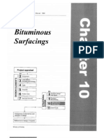 Tanzania Pavement Materials Design Manual 1999 Chapter 10 - Bituminous Surfacings