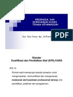 Kredensial & Kewenangan Klinis Farmasi