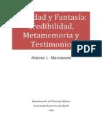 Realidad y Fantasía_Credibilidad%252C Metamemoria y Testimonio
