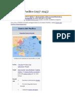 Guerra Del Pacifico 1937-1945