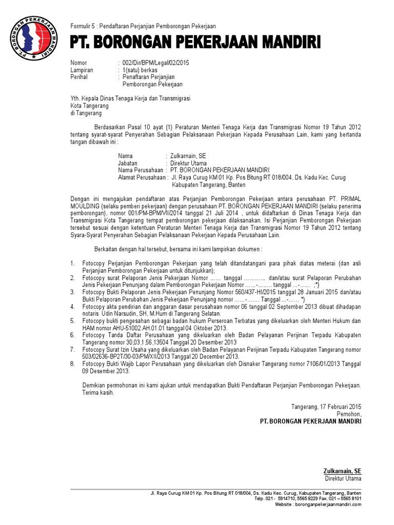 Formulir 5 Bpm Doc