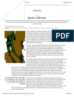 Ruiz Soroa JM (2015) Iguales y diferentes | Opinión | EL PAÍS