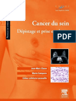 Cancer Du Sein - Dépistage Et Prise en Charge - Elsevier Masson