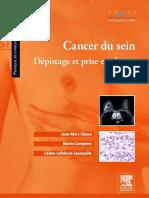 Cancer Du Sein - Dépistage Et Prise en Charge - Elsevier Masson