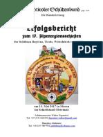 Erfolgsbericht 17. Alpenregionsschiessen in Meran (13.05.2017)
