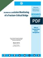 Acoustic Emission Monitoring of Fracture Critical Bridges