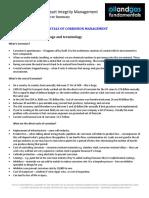 Corrosion Management Course Summary Module 1 11