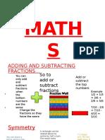 Maths revuision