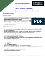 Corrosion Management Course Summary Module 2