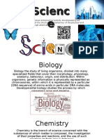 science revision page