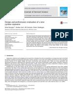Journal of Aerosol Science Volume 59 Issue 2013 [Doi 10.1016%2Fj.jaerosci.2013.01.010] Karagoz, Irfan; Avci, Atakan; Surmen, Ali; Sendogan, Omer -- Design and Performance Evaluation of a New Cyclone s