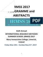 Conference Programme_irmss 15.05.2017