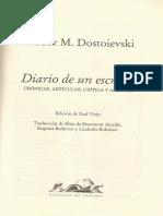 Dostoievski Sobre Nekrasov, Pushkin y Lermontov