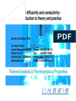 thermal diffusivity and conductivity linseis wots 2-10-2014