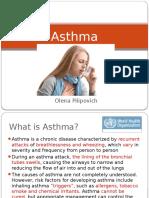 Asthma Pilipovich