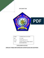 Achmad Maulana Rafi Eng Task1