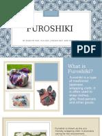 japanese group presentation on furoshiki  1