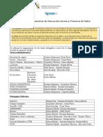 Circular N° 4 DPTAL - Líneas departamentales
